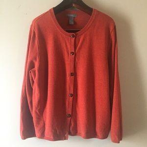 Koret Woman Cardigan Sweater. Size 2X